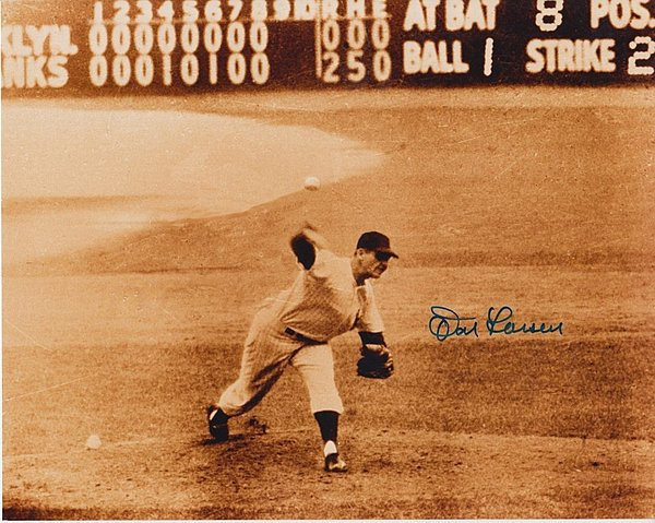 don_larsen_autographed_8x10_pitching_new_york_yankees_p103438