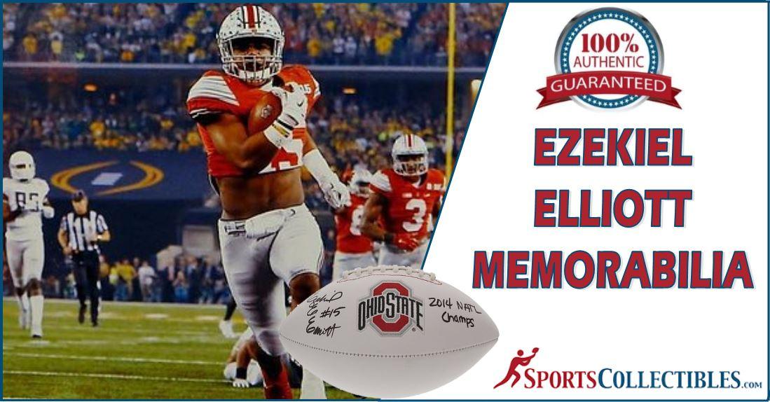 Ezekiel Elliott Memorabilia 2