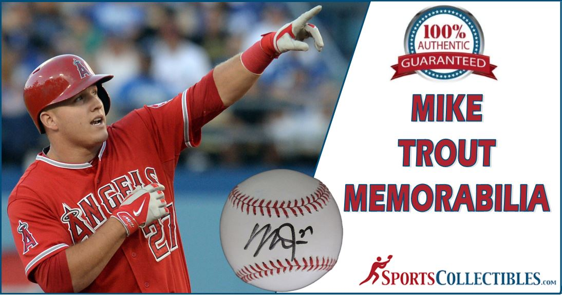 Mike Trout Mem