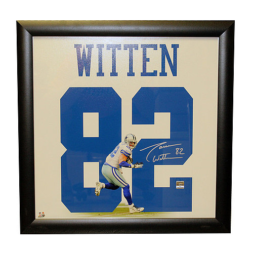 Brand New Witten Signed 23x23 Jersey Frame!