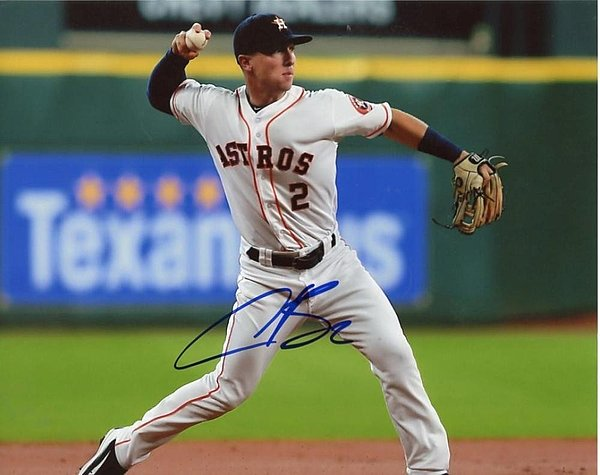 alex_bregman_houston_astros_autographed_in_field_8x10_photo_certified_authentic_autograph_p743733