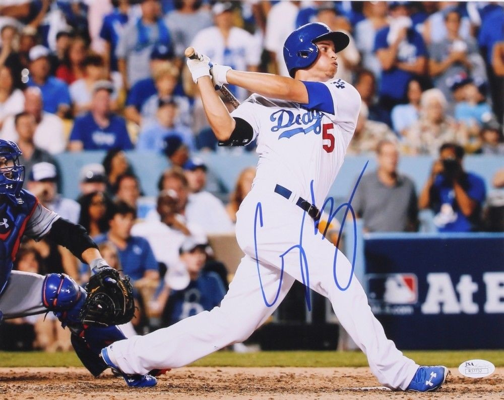 corey_seager_autographed_los_angeles_dodgers_11x14_photo_withjsa_authentic_p1387799