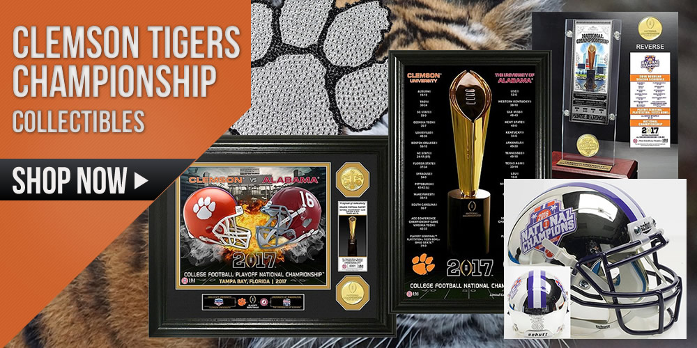 Clemson Tigers Championship Collectibles